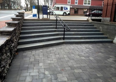 Mueskes Granite Curbing and Steps