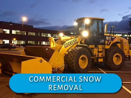 Mueskes Snow Removal services