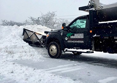 Mueskes Snow Plowing Truck